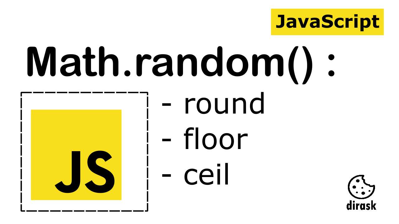 JavaScript Math.random() explain the difference between Math.ceil() vs Math.floor() vs Math.round() - intro image