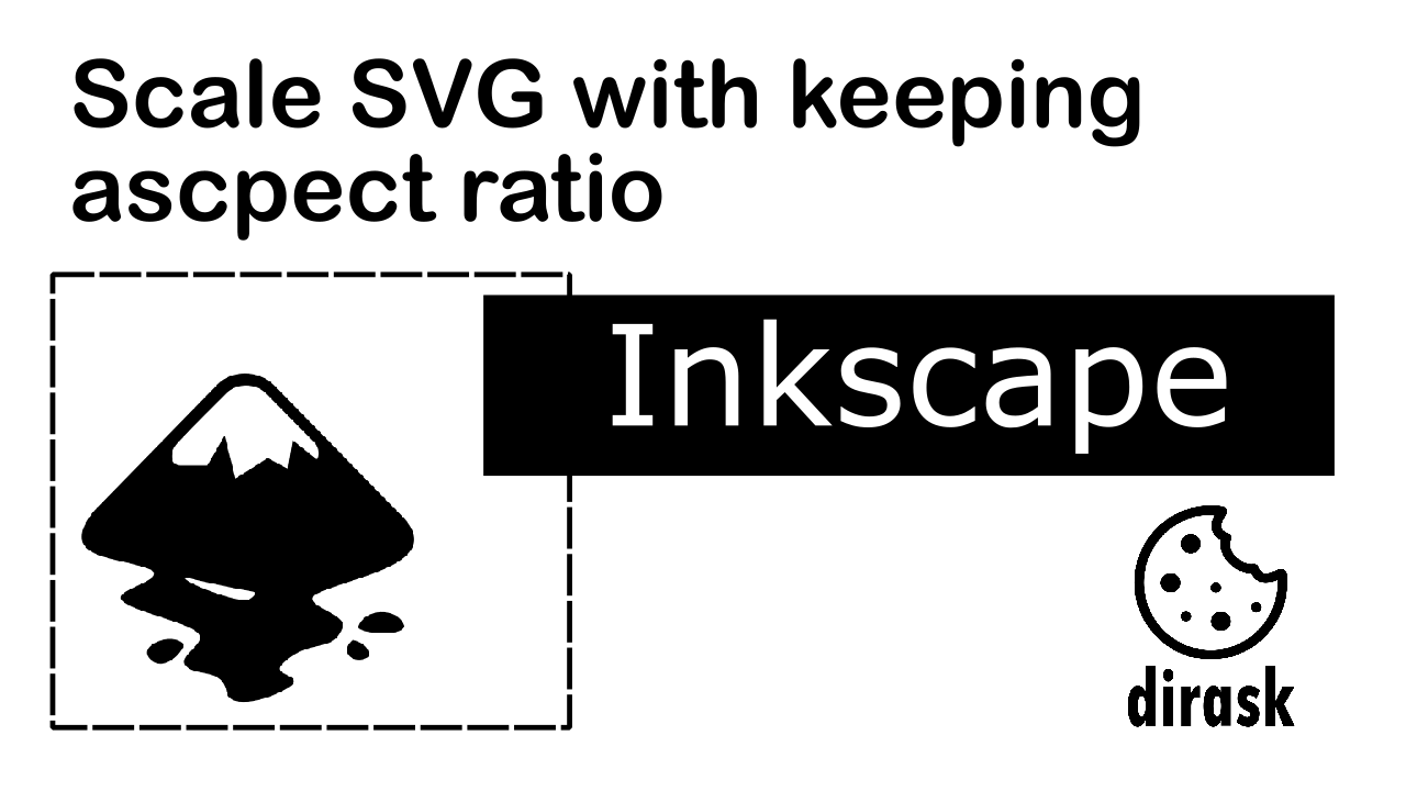 Inkscape scale svg image with keeping aspect ratio - Image intro