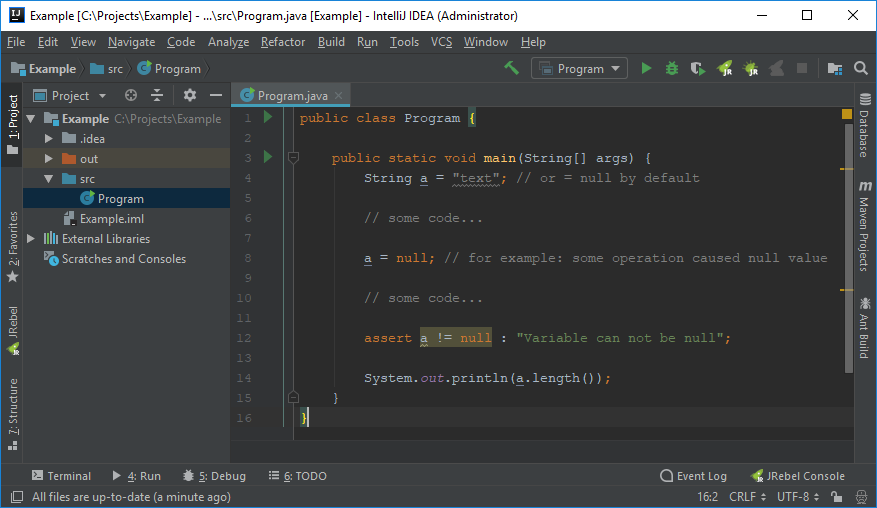 Java project with IntelliJ IDEA