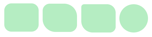 CSS - div with rounded corners example
