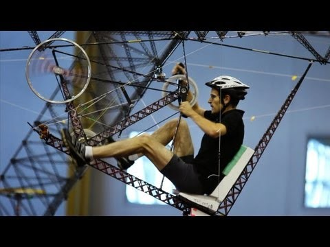 Human-Powered Helicopter: Straight Up Difficult | SKUNK BEAR