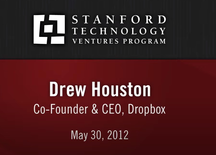 👍 Drew Houston: Finding Your Way as an Entrepreneur [Entire Talk]