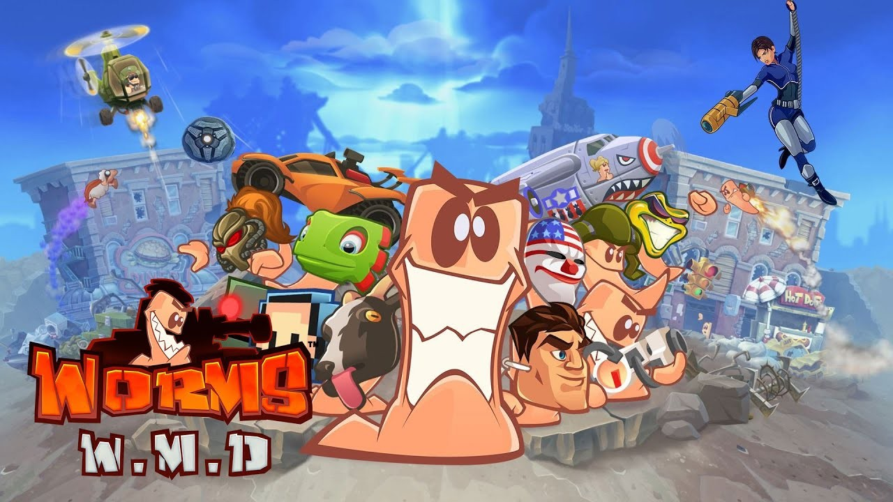 Worms W.M.D [PC/PS4/XB1] -- Recenzja