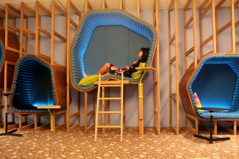 Nap Pods In The Office: Our Favorite New Workplace Trend