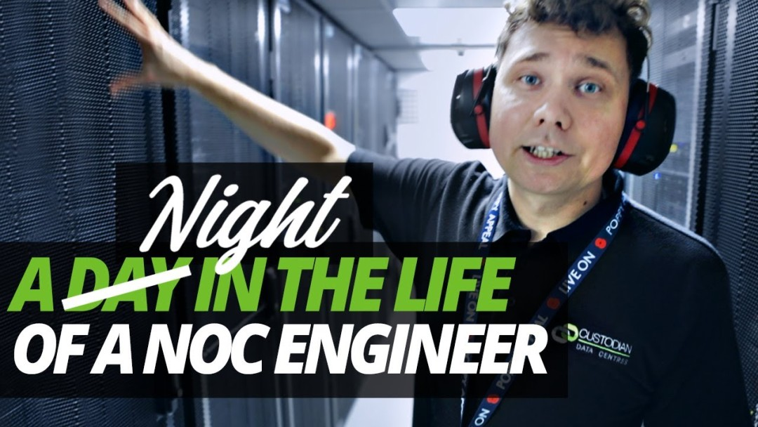 A DAY (NIGHT) in the LIFE of a NOC ENGINEER!