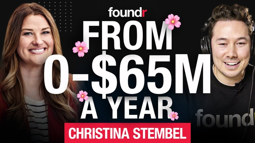 What Happens After 103 Investor Rejections?! | Farmgirl Flowers' Christina Stembel
