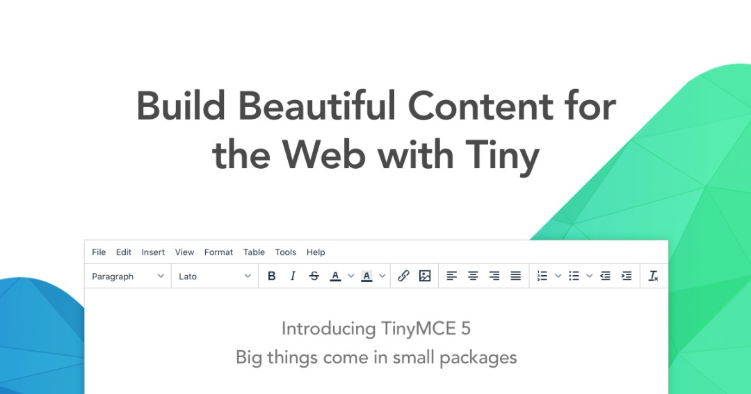 TinyMCE | Full featured examples
