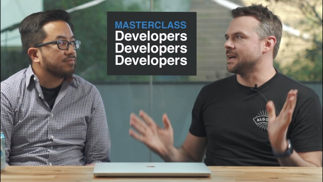 Masterclass: How to sell to 20M software developers with an amazing onboarding experience
