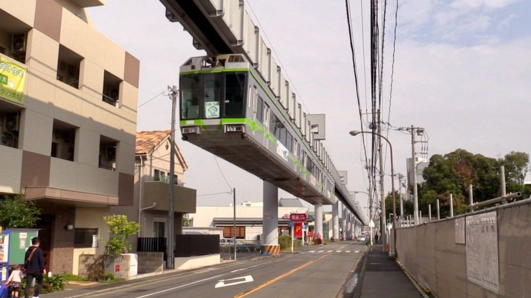 Shonan Monorail Cab View Full Ride
