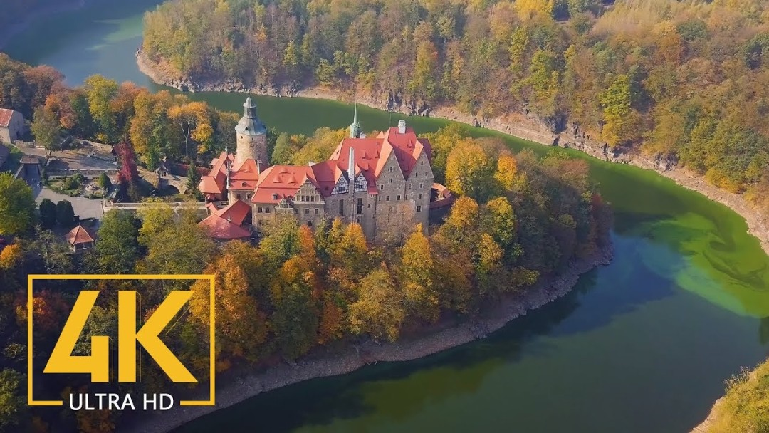 4K Polish Castles - Stunning Aerial Drone Footages of Best Castles of Poland